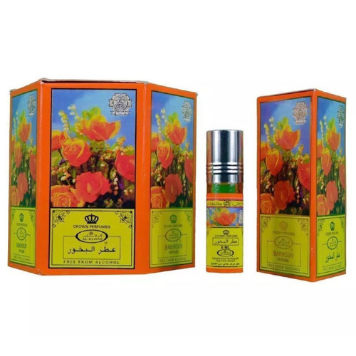 Al-Rehab Bakhour Roll On Perfume Oil - 6ml (Without Retail Box)