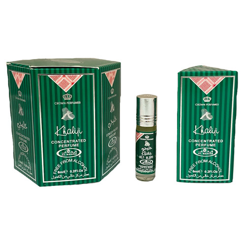 Al-Rehab Khaliji Roll On Perfume Oil - 6ml (Without Retail Box)
