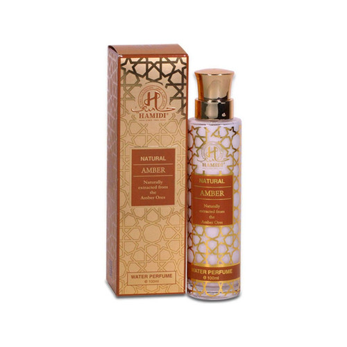 Hamidi Natural Amber Water Perfume - 100ml
