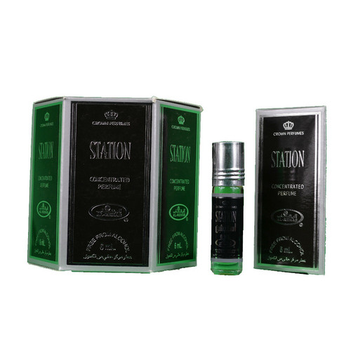 Al-Rehab Station Roll On Perfume Oil - 6ml (Without Retail Box)