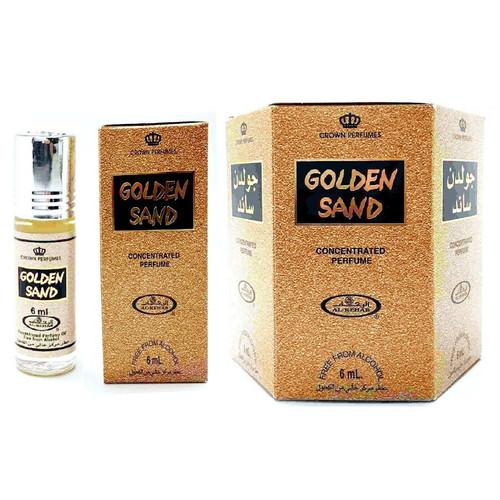 Al-Rehab Golden Sand Roll On Perfume Oil - 6ml (With Retail Box)