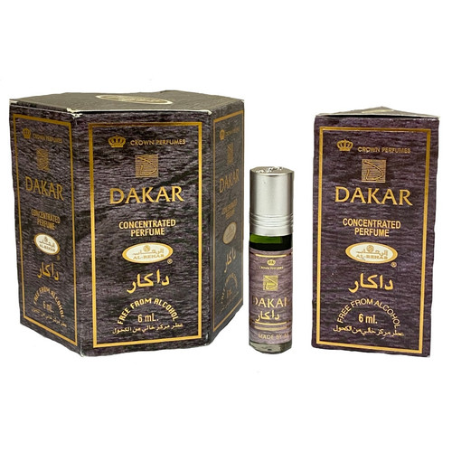 Al-Rehab Dakar Roll On Perfume Oil - 6ml (With Retail Box)