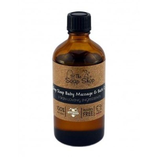 Natural Deep Sleep Baby Massage & Bath Oil