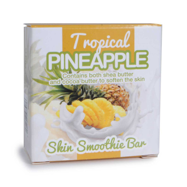 Tropical Pineapple Skin Smoothie Bars