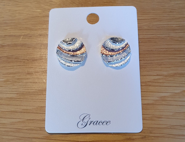 Round Waves Earrings
