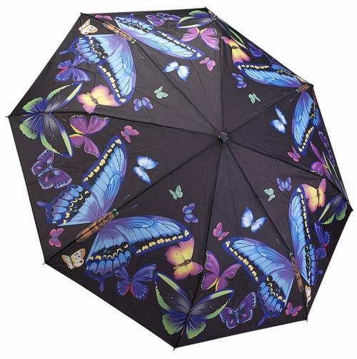 Moonlight Butterflies Umbrella - Folding