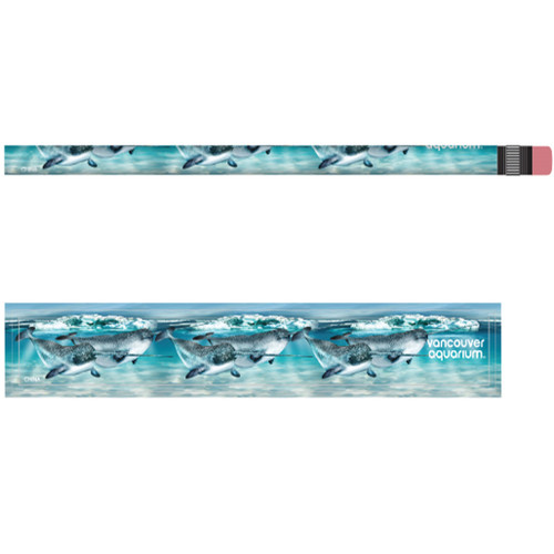 Kids' pencil with pattern of Narwhals