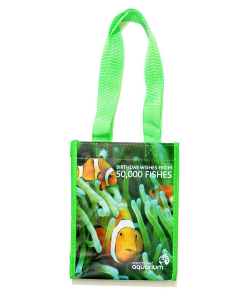 Birthday Party Loot Bag with clown fish picture