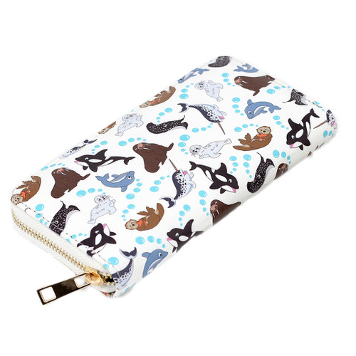 Marine Animals Wallet - Large & Small