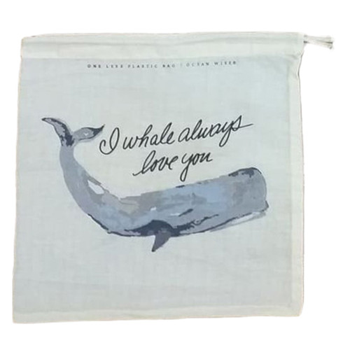 Whale Cotton Produce/Food Storage Bags