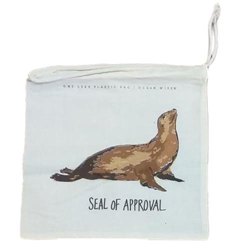 Sea Lion Cotton Produce/Food Bags
