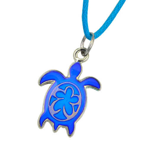 Sea Turtle mood necklace