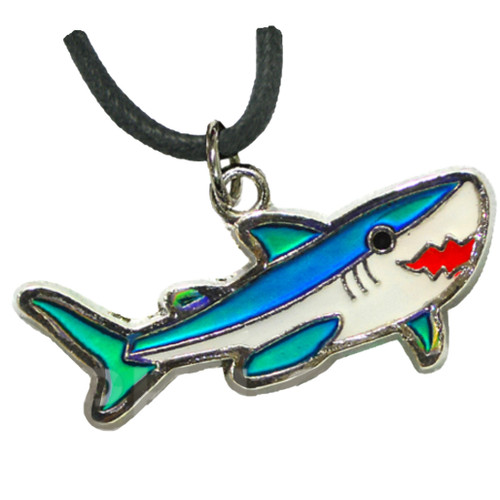 Mood Necklace, shark