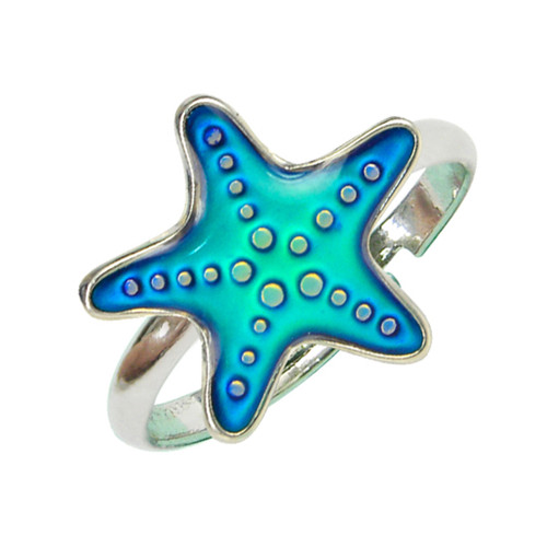 Mood Ring, Seastar - blue
