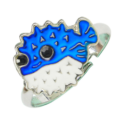 Mood ring, pufferfish