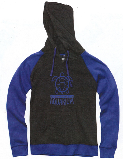 Front of the hoodie.