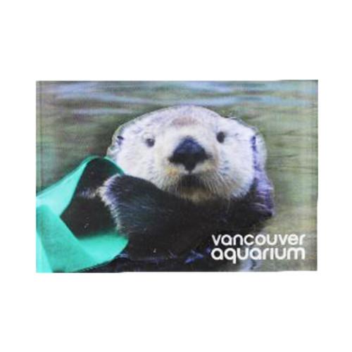 sea otter magnet, rectangle