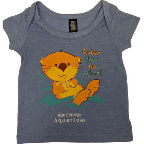Infant t-shirt, 'Cuter than No Otter'