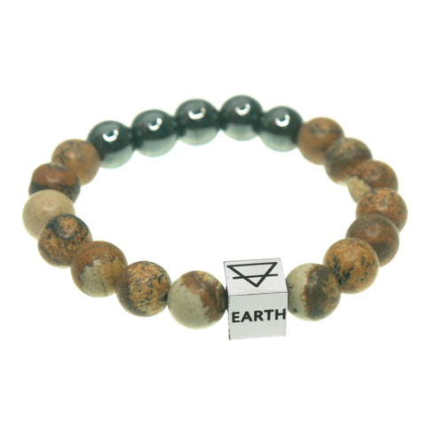 Earth four elements bracelet