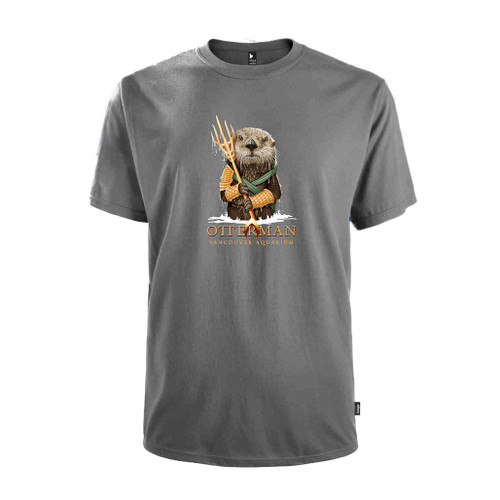 Otterman T-shirt, charcoal