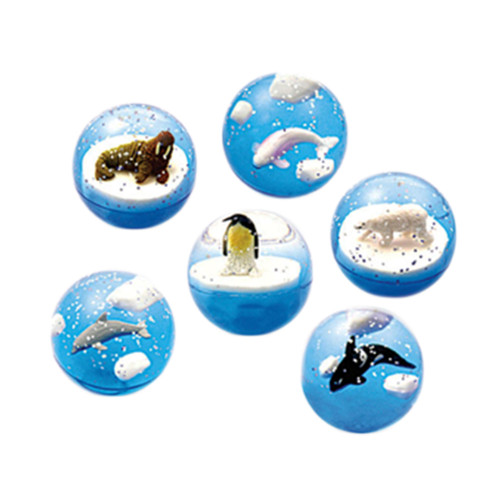 bouncing balls with arctic animals