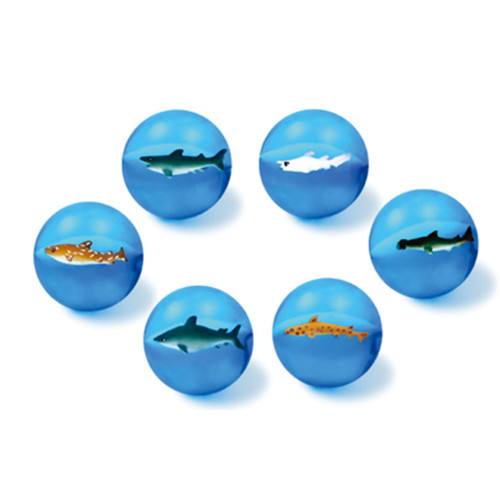 Bouncing Balls with sharks