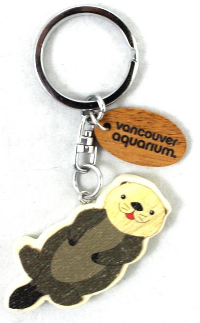 sea otter keychain
