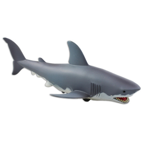 Action toy, friction, Great White Shark shape