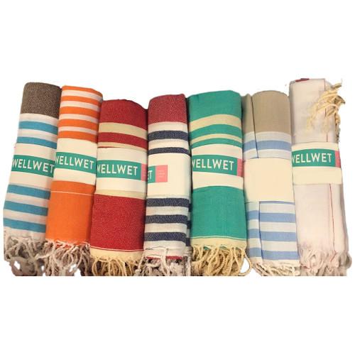 Assorted Turkish Beach towels