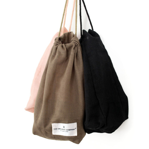 all purpose organic cotton drawstring bags