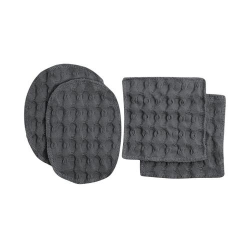 Makeup Pads, dark grey