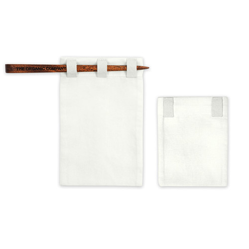 Tea Bag set, organic cotton