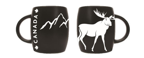 moose etched mug