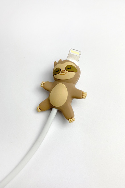sleepy sloth cable bite