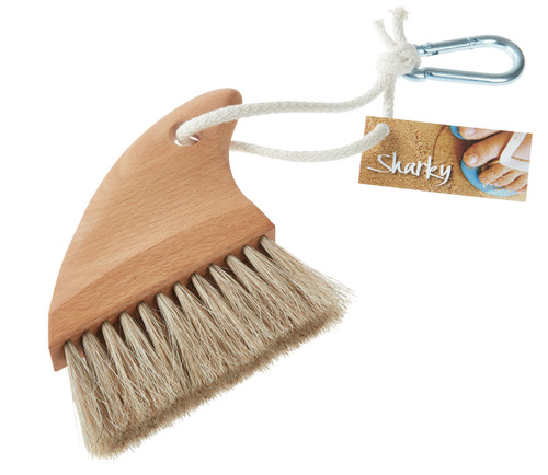 sharky beach brush