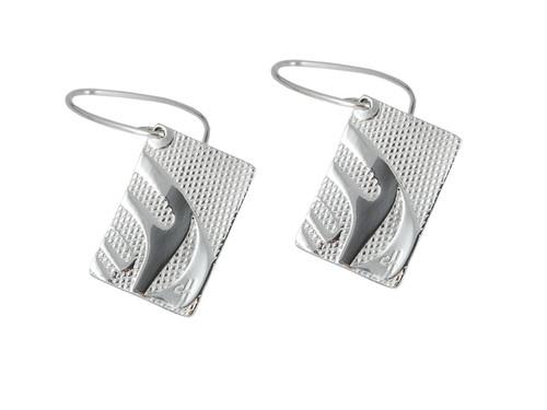 Silver Pewter Killer Whale (Nexus) Earrings