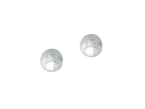 Silver Pewter Eagle (Air) Earrings