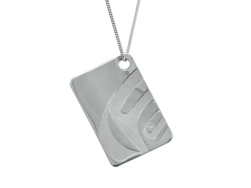 Silver Pewter Killer Whale (Nexus) Pendant Necklace