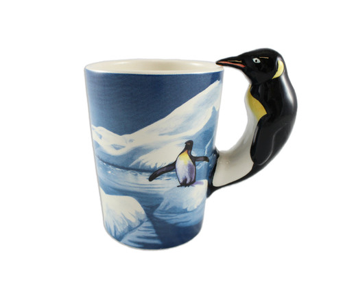 3D Penguin Mug