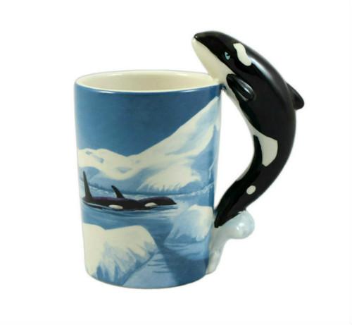 Killer Whale 3D Mug