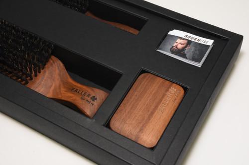 Men's Grooming Brush Set