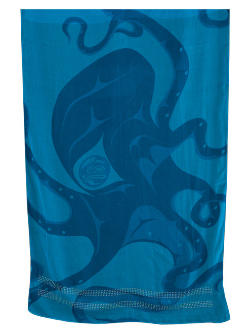 Shawl, Octopus design by Andrew Williams