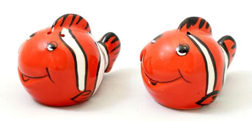 Clown Fish Salt & Pepper Shakers
