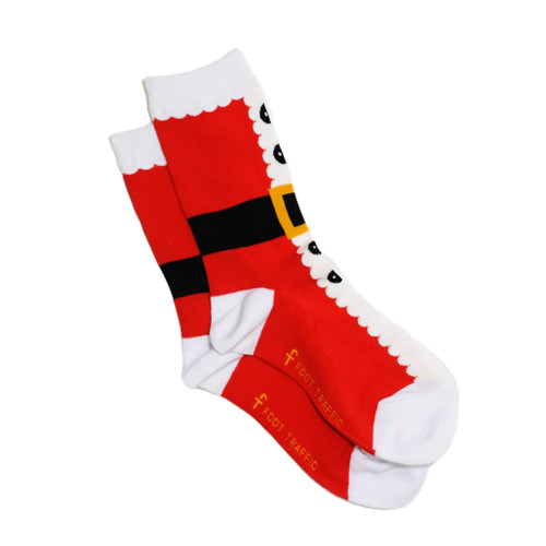 Women's Xmas socks - Santa suit