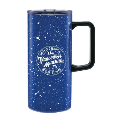 Dark Blue Travel Mug