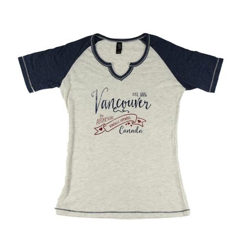 Women's Vintage Vancouver T-shirt