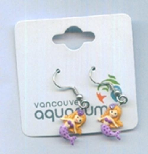 Mermaid Glitter Drop Earrings
