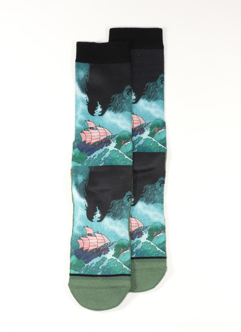 Sea Monster Socks - Men