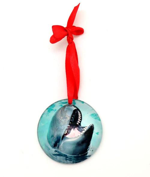 Glass Chester Ornament