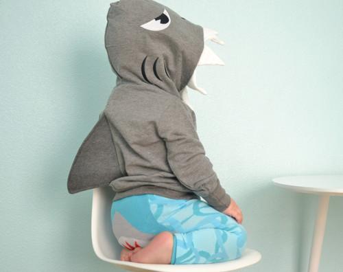 Shark 3D Hoodie - Kids